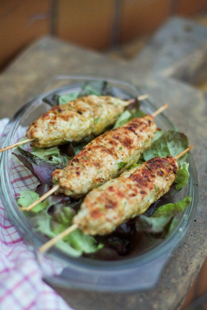 brochettes de poulet fa on keftas 1 barbecue gagn food pinterest. Black Bedroom Furniture Sets. Home Design Ideas
