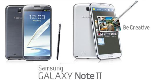 Samsung GALAXY Note II Samsung galaxy note ii, Samsung