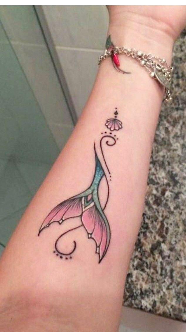Mermaid tail tattoo ink pinterest mermaid tail for Mermaid tattoos pinterest