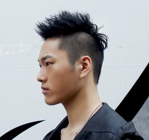 Short 2 Block Cut Hairstyles Men Asian Men Hairstyle Hair