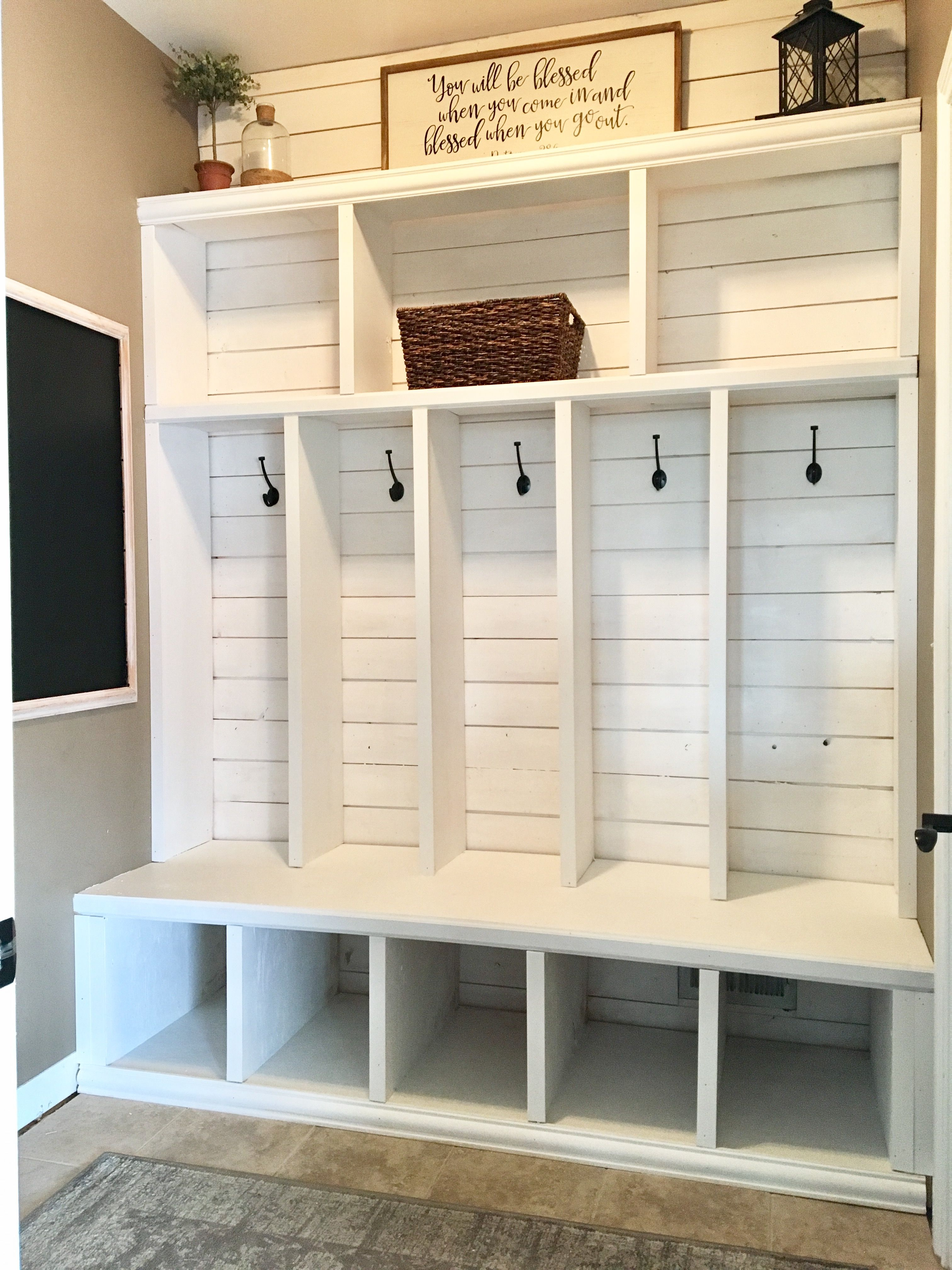 Mudroom Lockers Small Entry Way Home Office Built