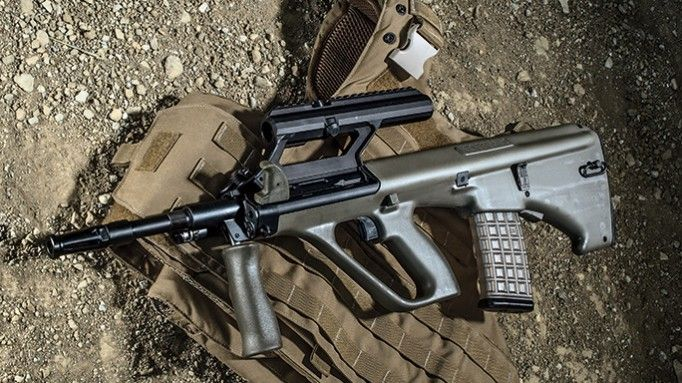 dolfordj m1 a3 Steyr arms has introduced its new, multi-configurable m1 variant of the aug a3  bullpup rifle the steyr aug a3 m1 incorporates an optics.