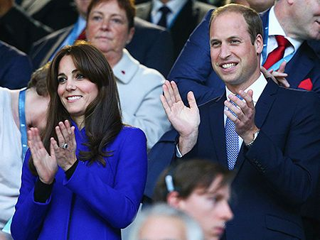 'Game On!' Princess Kate, Prince William and Prince Harry Make It a Royal Rugby Night