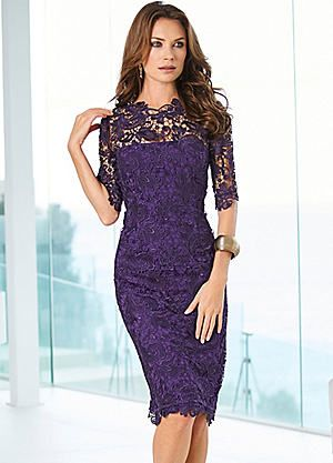 802659eeabb42 Exquisite Lace Dress #kaleidoscope #floral #loveflorals | Dresses ...
