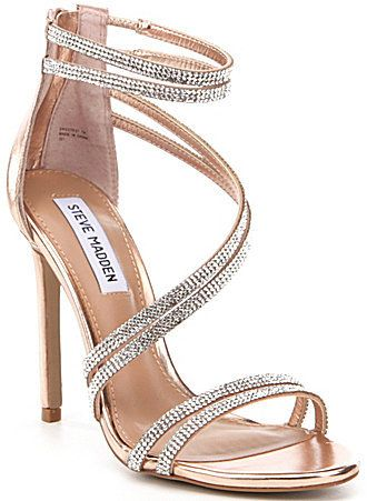 98667960fb Steve Madden Sweetest Strappy Dress Sandals | shoes in 2019 | Shoes ...