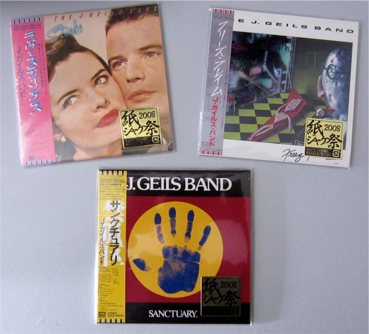 Memorabilia: Japan Mini LP Replica CDs – Sanctuary, Love Stinks ...
