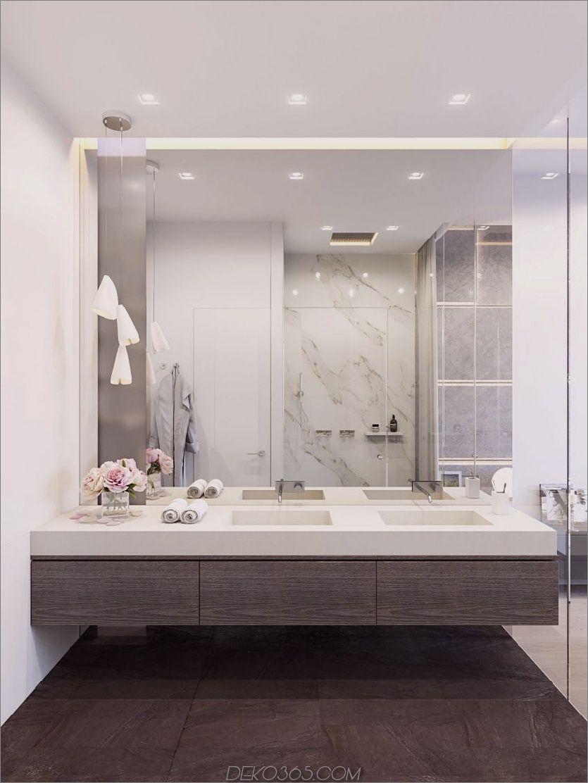Grosser Badezimmerspiegel.Grosser Badezimmerspiegel In Echtem Interieur Blog Deko365 Com Badezimmer Design Bad Inspiration Badezimmerspiegel