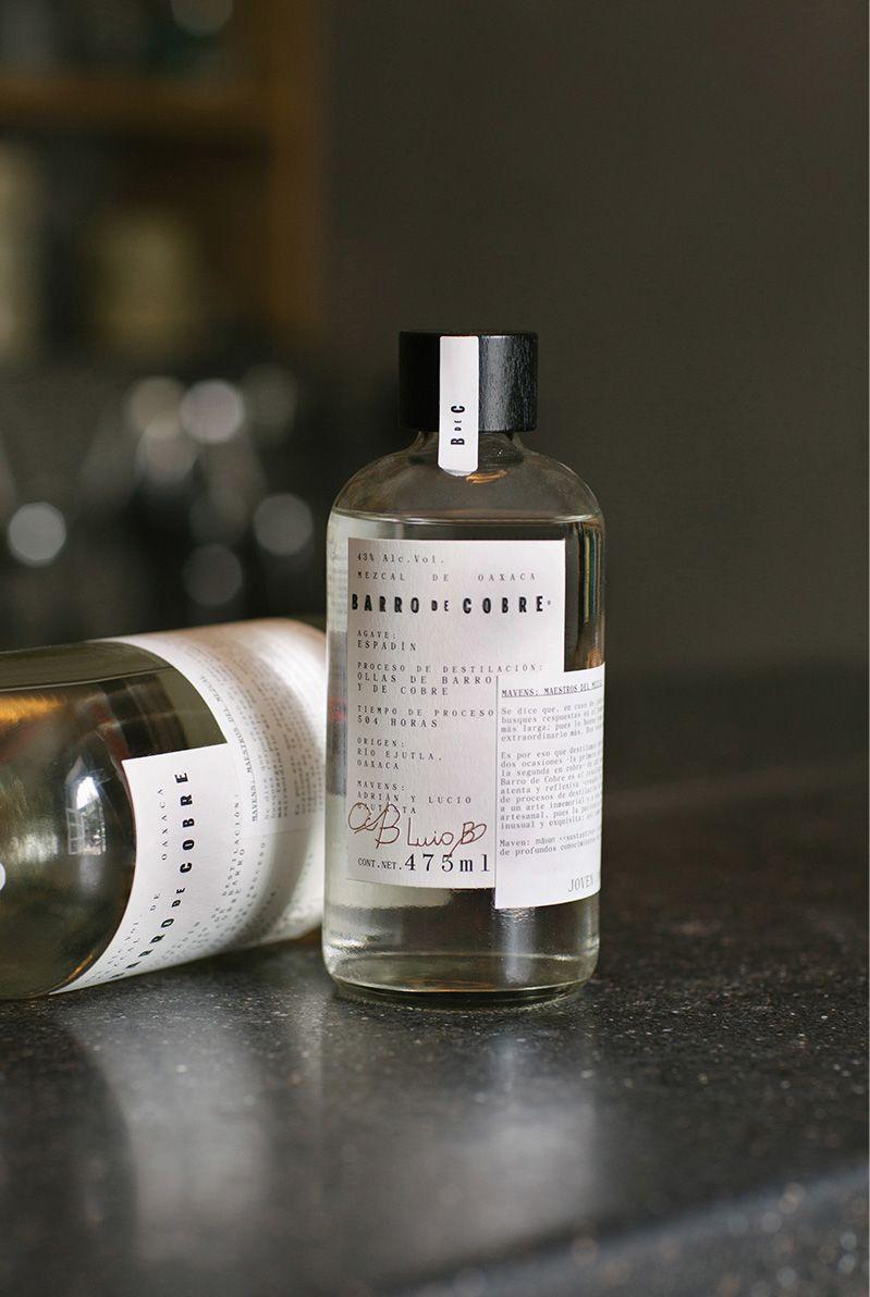 Barro de Cobre mezcal packaging by Savvy studio