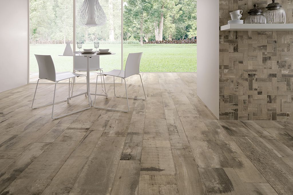 Old wood ceramiche fioranese porcelain stoneware tiles and
