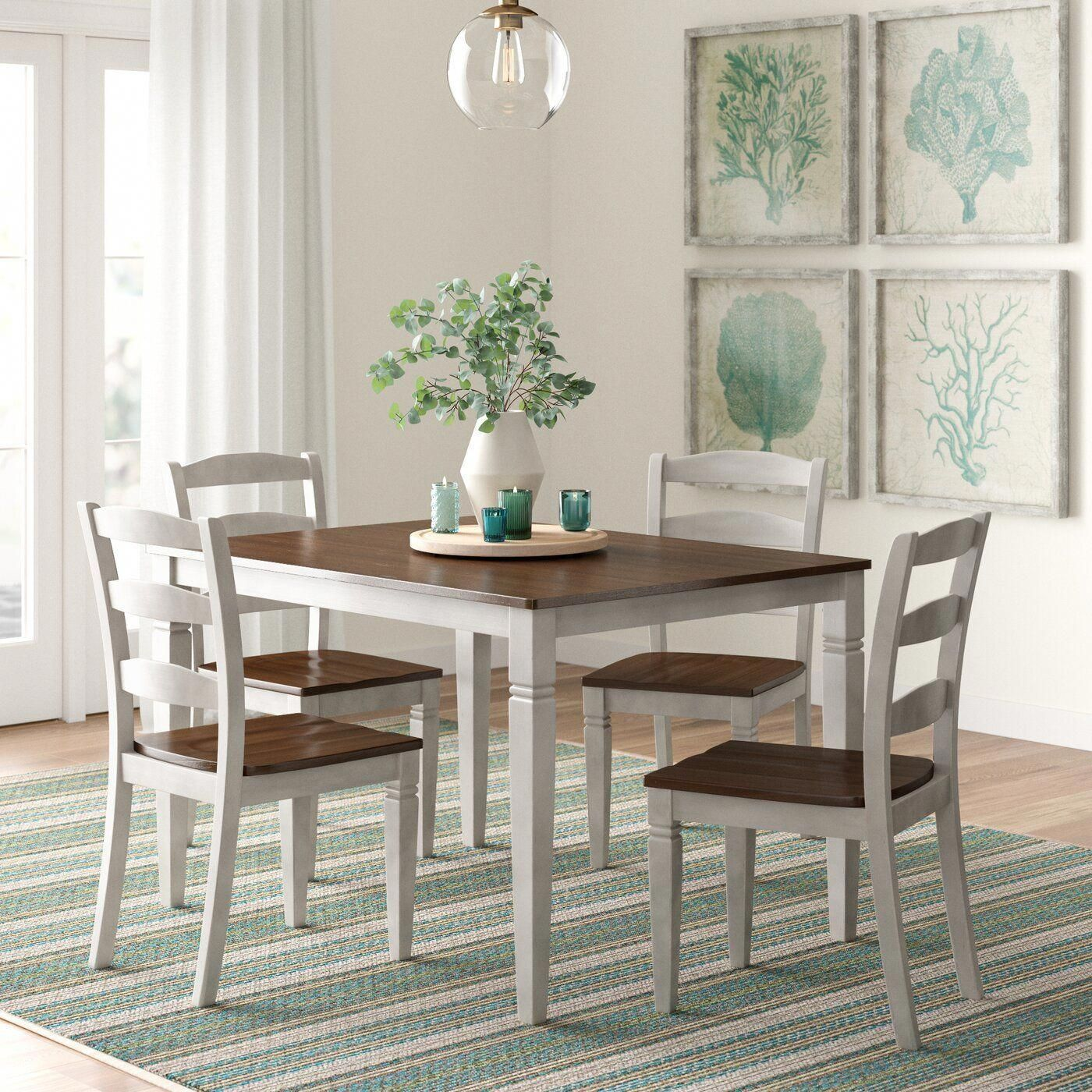 Ayleen 5 Piece Dining Set Small Dining Room Set Dining Room Small Dining Room Sets