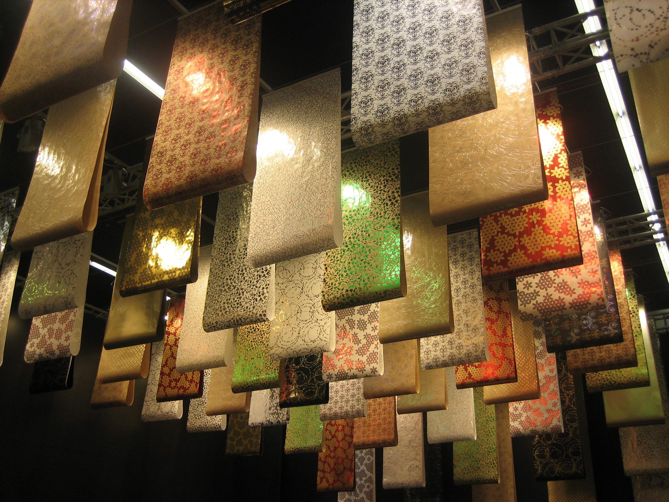 Gift Wrap Paper Display, Pinned By Ton Van Der Veer