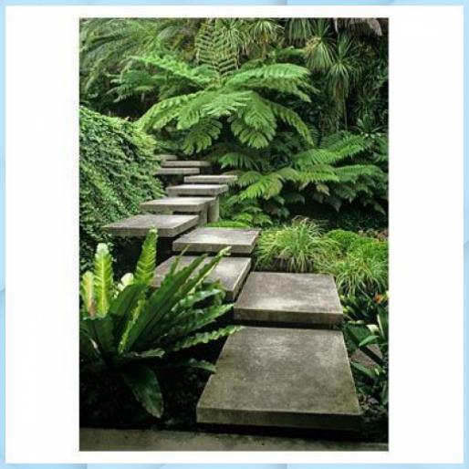 Photo of Treppenaufgang mit Richtungswechsel durch Laub – Austra – DIY Garden #Au …