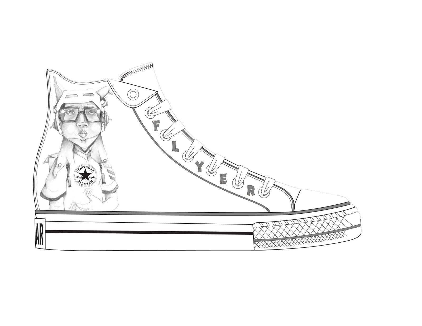 kd nike shoes coloring pages - photo#19