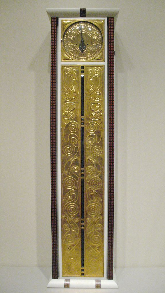 Tall-Case Clock, c. 1906 Tall-Case Clock, c. 1906 Austria, Vienna Case designed by Josef Hoffmann (Austrian, born Moravia [Czech Republic] 1870-1914)