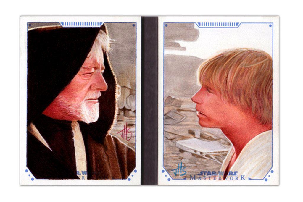 Star Wars Masterwork 2015 Sketch Book by jhssketchcards.deviantart.com on @DeviantArt