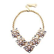 Fashion Gold Alloy With Imitation Pearl Choke... – USD $ 21.99