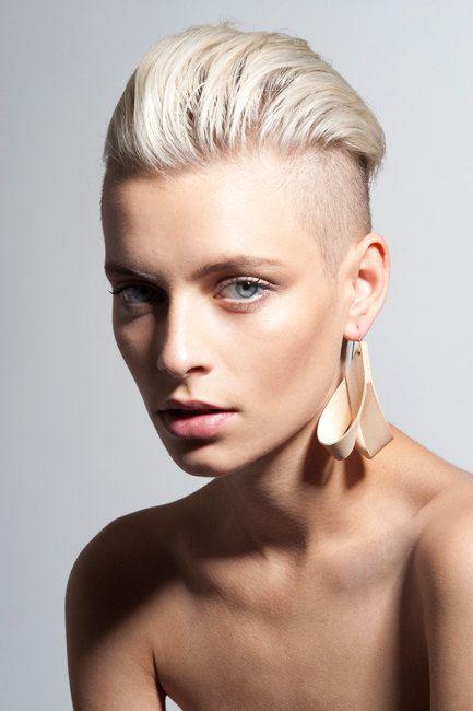 Drop shaped earrings Wood earrings Minimalist by ezekielhandmade