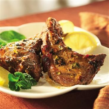 lamb chops with mustard honey glaze Grilled Lamb Chops with Honey Mustard Glaze  Grilled lamb chops