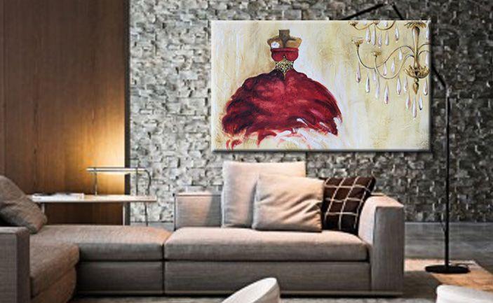 Quadri moderni dipinti su tela materica, quadri floreali, astratti ...