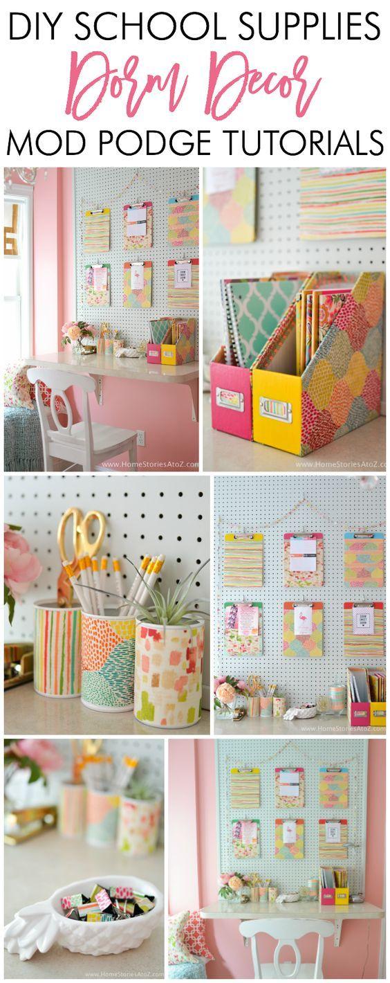 Pinterest Diy Dorm Crafts