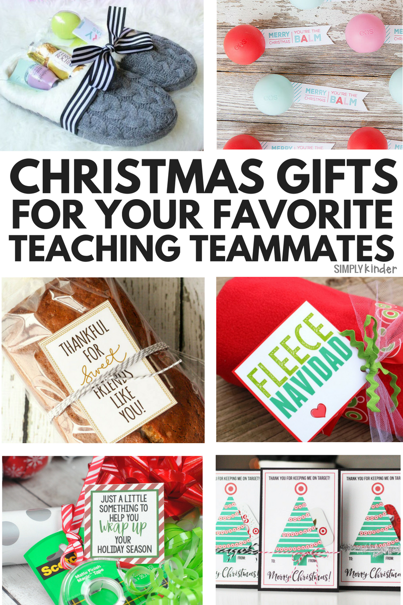 Easy Gifts for Your Teaching Team | Pinterest | Christmas gifts ...