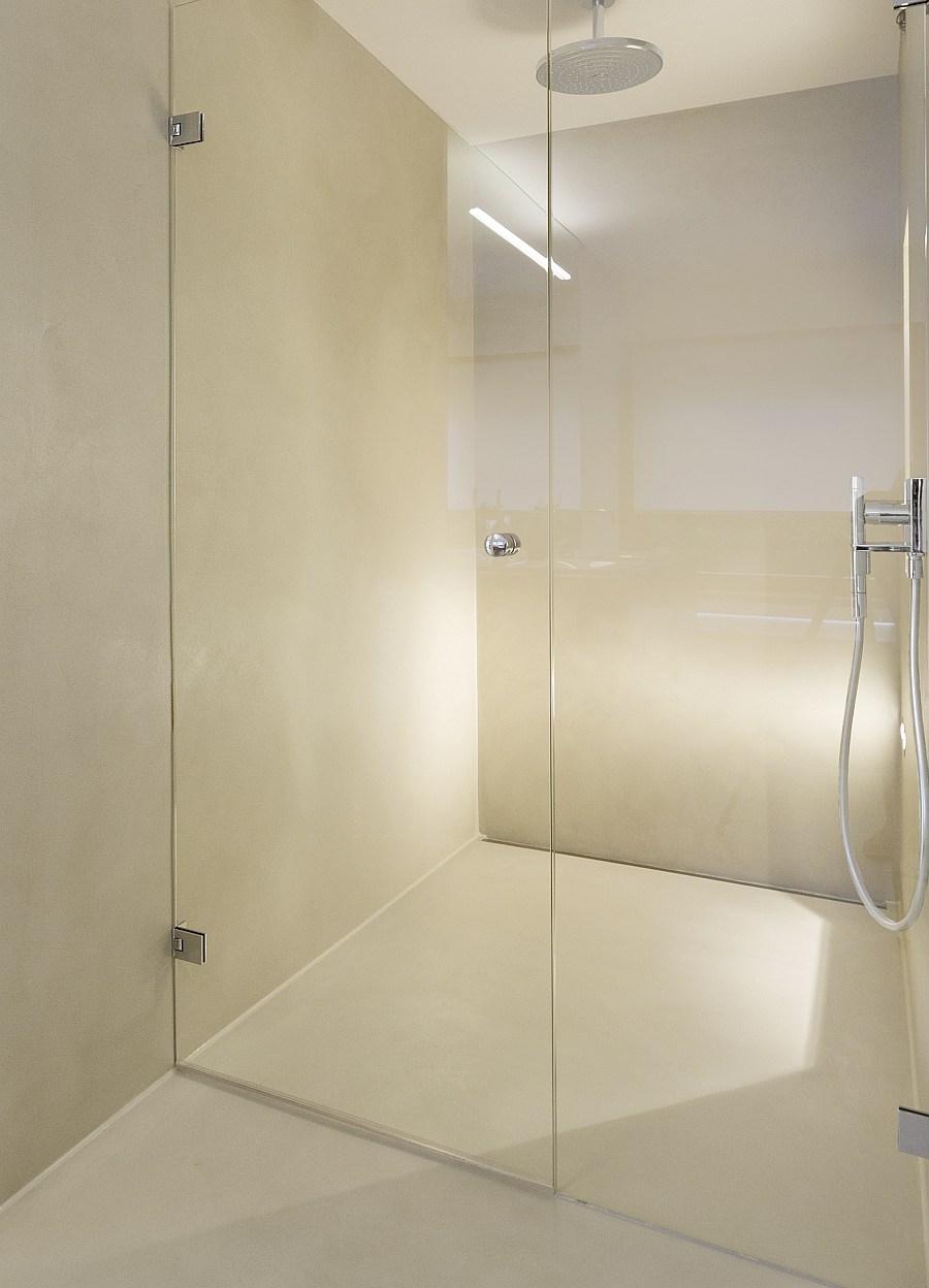 Moderne Fugenlose Dusche Mit Nurglasture Glastur Dusche Fugenlose Dusche Dusche