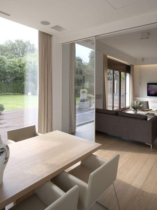 Cortinas para sala minimalista moderna for Sala casa minimalista