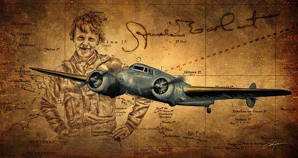 Amelia Earhart By Dale Jackson Amelia Earhart Amelia Pilot Tattoo