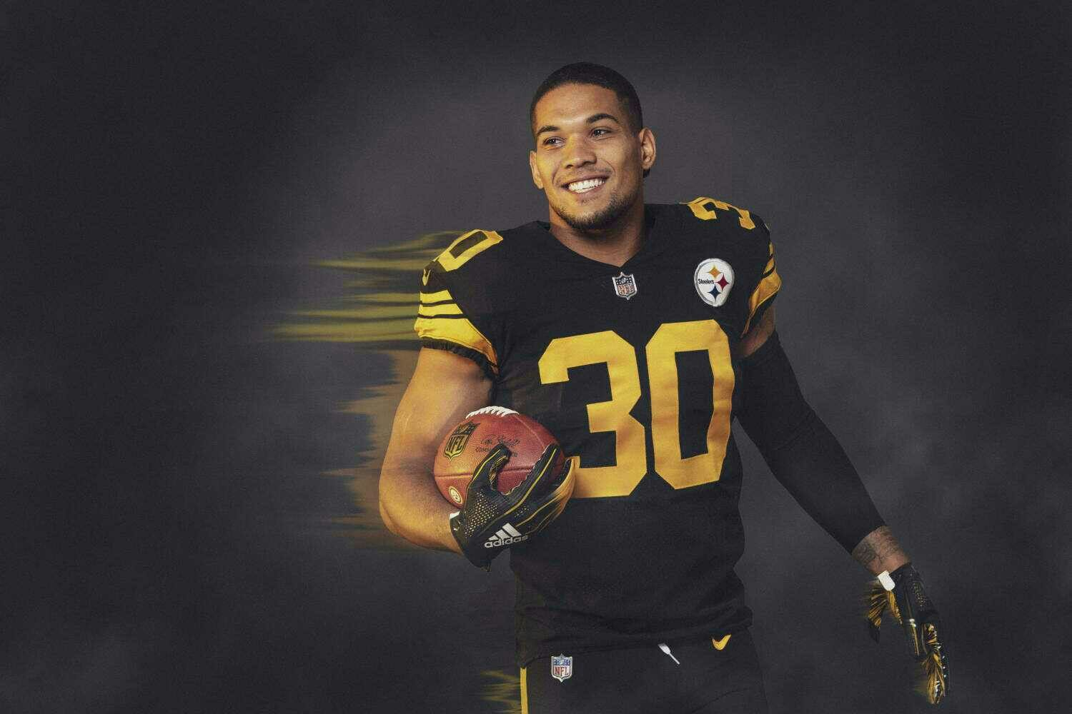 17e49782998 James Conner - Color rush | Pittsburgh Steelers! | Pitsburgh ...