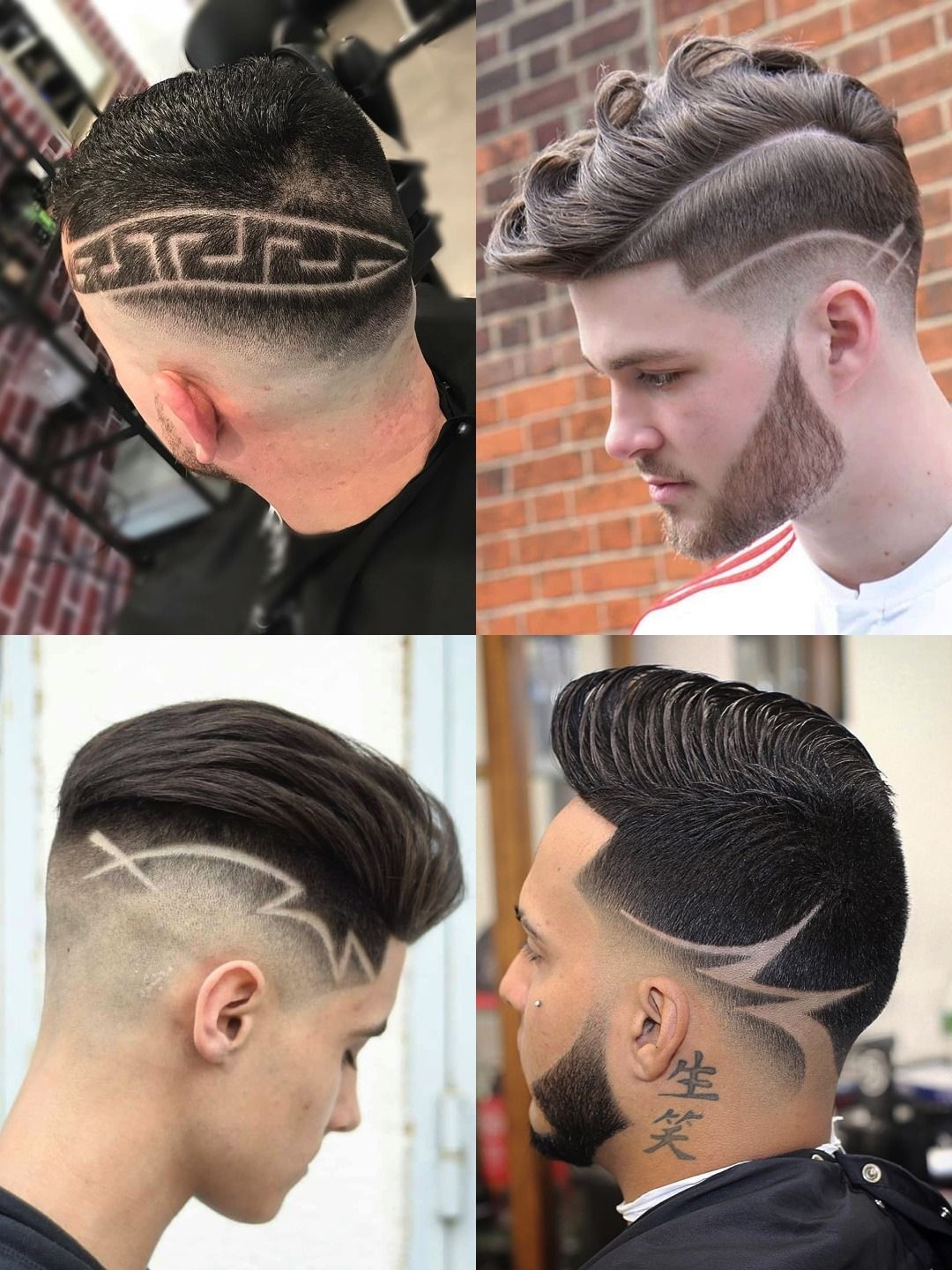 35 Awesome Design Haircuts For Men Men S Hairstyles Haircut Designs Hair Tattoo Designs Hair Designs For Men
