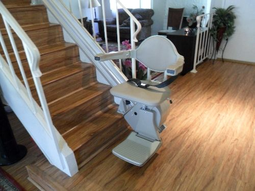 Bruno Elan Straight Rail Stairlift Indoor Design Elegant Design