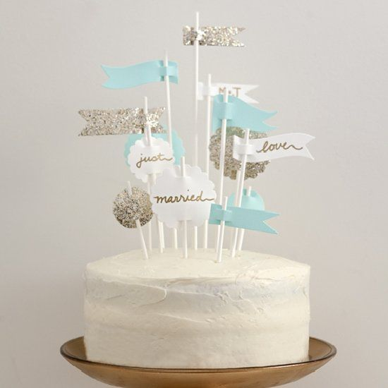 Making This Wedding Cake Topper Alternative Is Super Easy Check It Out
