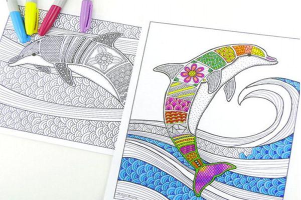 Hojas para colorear que puedes imprimir | Mandalas and Overlays