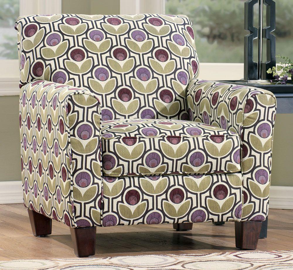 $400 @ Ashley Furniture; Danielle Eggplant Accent Chair