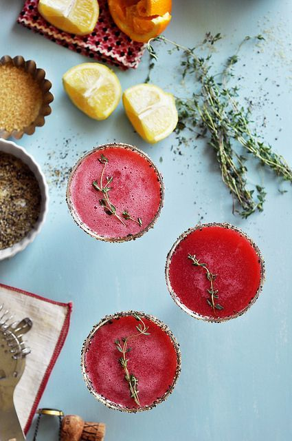 Unique combination of flavors in this cocktail: raspberry, black pepper, and delicious bubbly champagne!