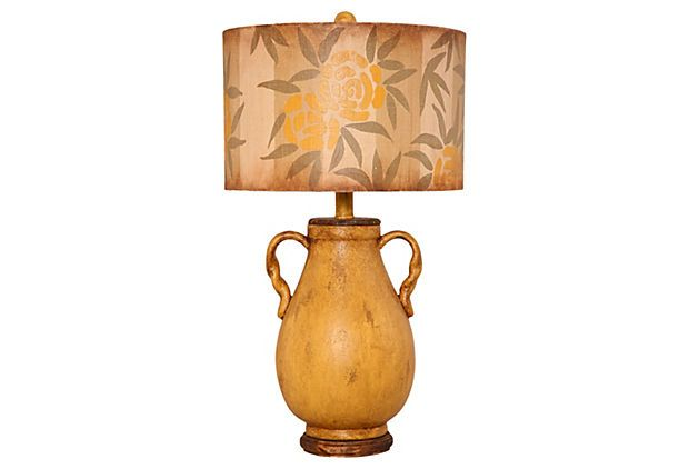 Great lamp for a gender neutral nursery that can eventually graduate to the other areas of the home.