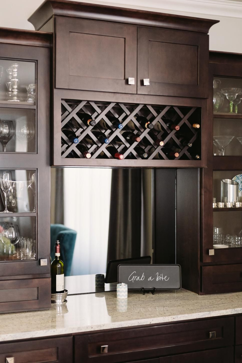 Brown China Cabinet With Wine Rack Kitchen Cabinet Wine Rack Built In Wine Rack Wine Cabinets