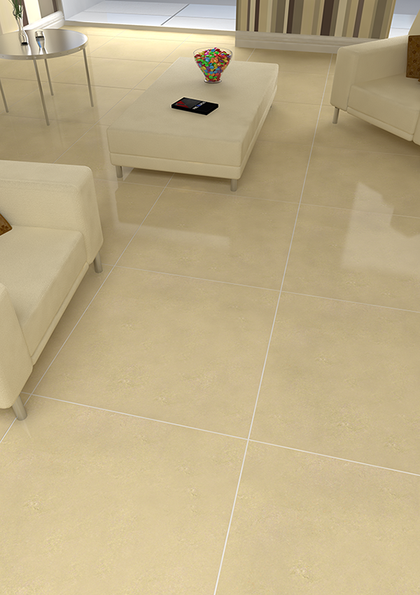 Large Format Tiles Provide A Spacious Feel Shown Here Jasmine