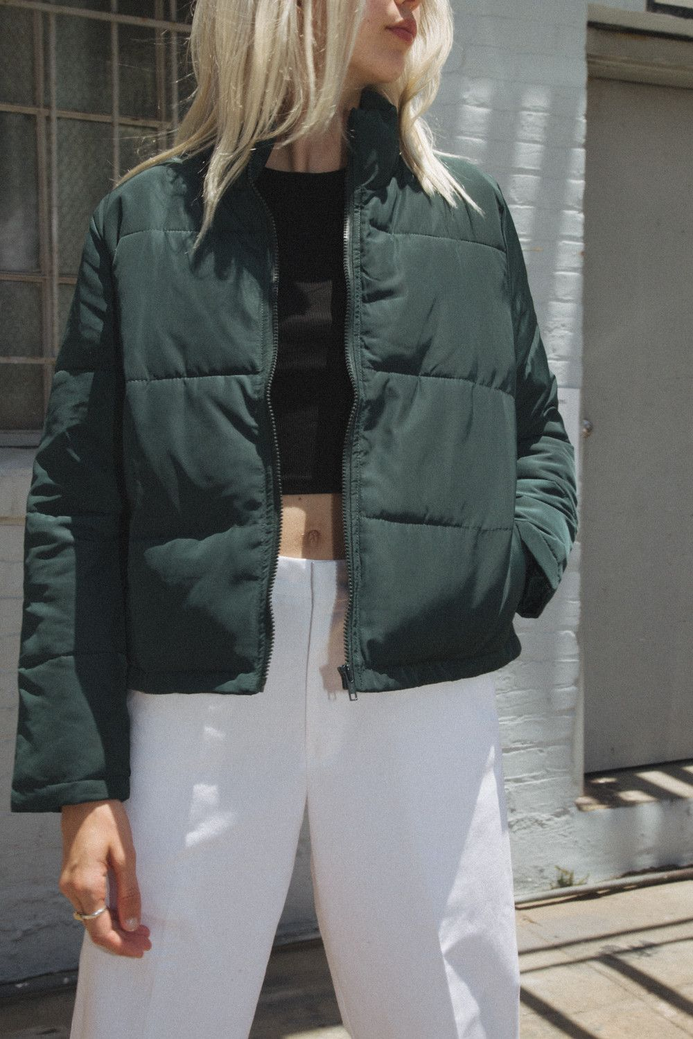 Macy Jacket | Jackets, Brandy melville jacket, Trendy jackets