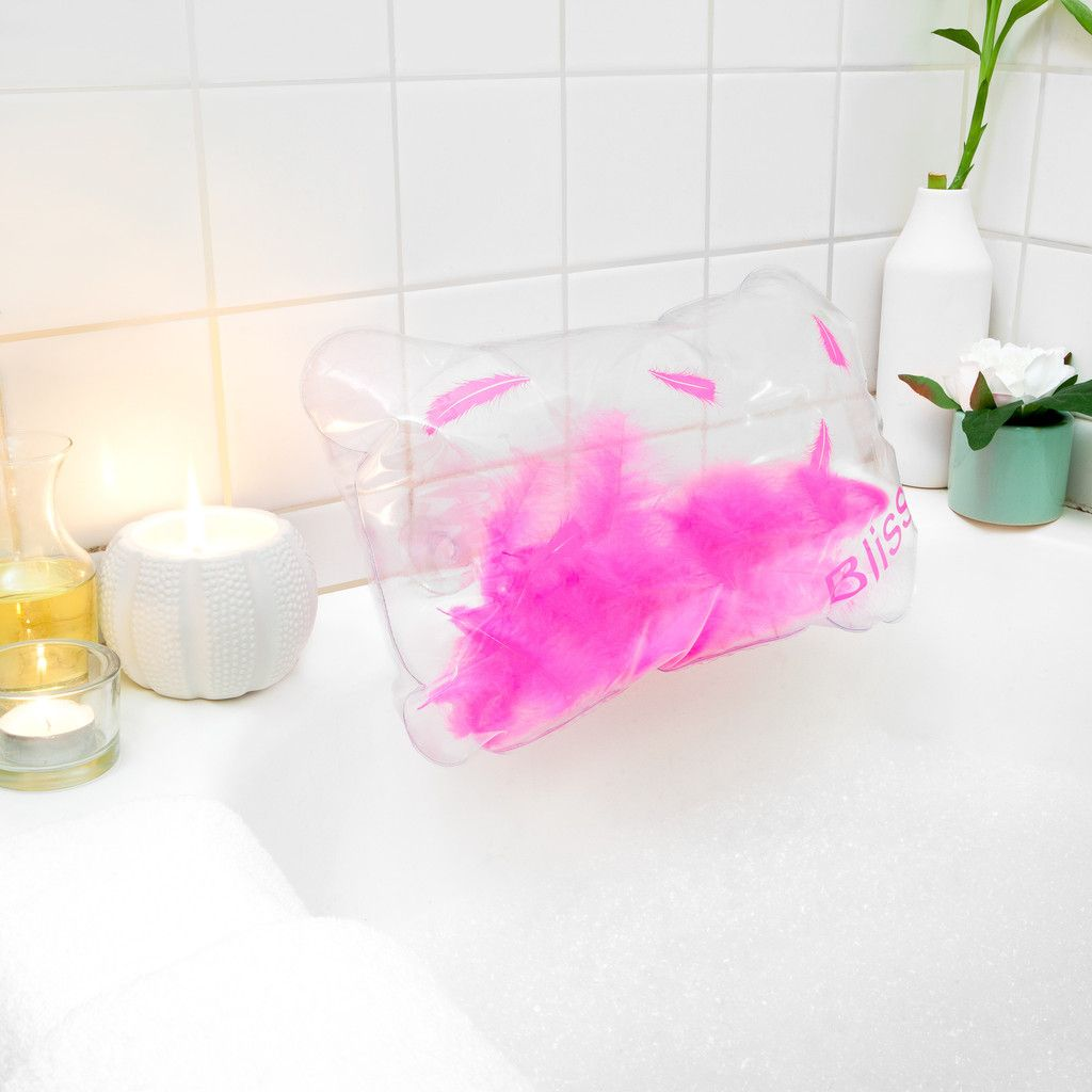 Bath Pillow Inflatable With Feathers In 2019 Simply