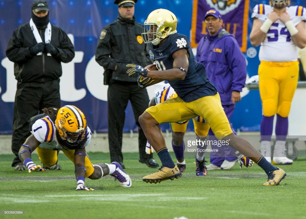 News Photo Notre Dame Fighting Irish Wide Receiver Miles