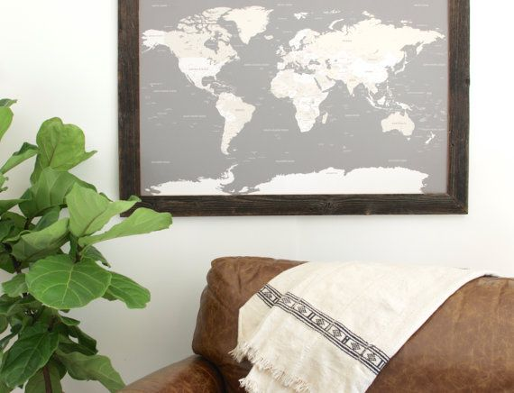 World map push pin travel map reclaimed wood push pin office world map push pin travel map reclaimed wood push pin map anniversary gift world push pin travel map christmas gifts for him gumiabroncs Gallery