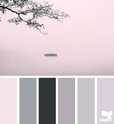 Calm Colors dress it up -- color palette of: creamy white, blush, palest to