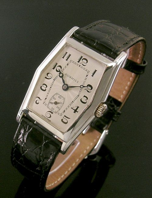 a silver vintage dunhill watch 1930 mens watches 1930 a silver vintage dunhill watch 1930