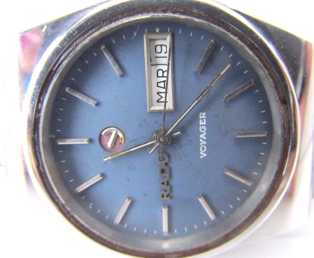 100 Genuine Vintage Rare Gents Rado Voyager 25 Jewels Wrist Watch 875 Vintage Watches Stainless Steel Band Wrist Watch