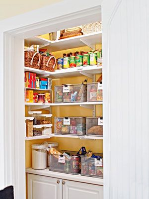 Organizing Your Pantry Use These Easy Ideas For Clearing
