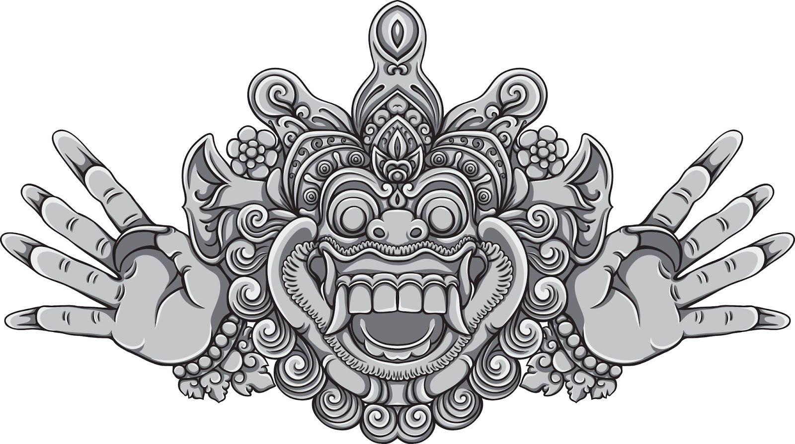 Bali Mask Pesquisa Google Tattoo S Pinterest Vorlagen