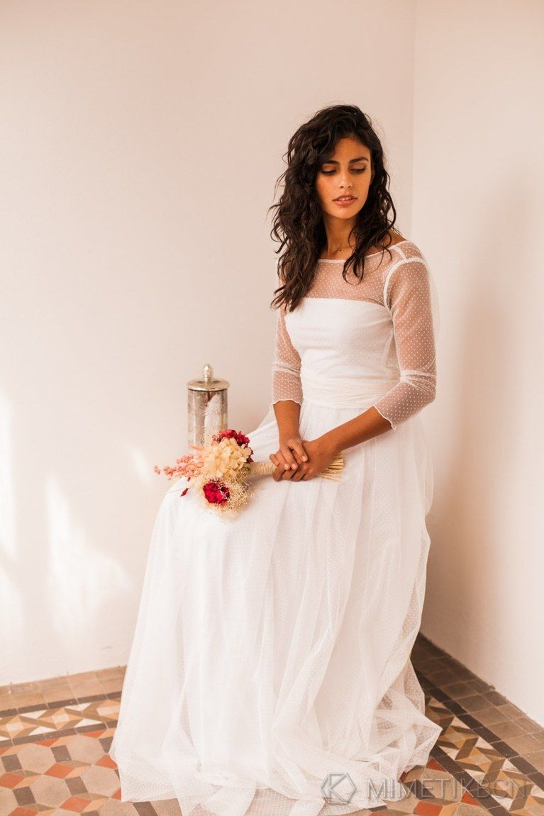 wedding dresses we love from etsy long sleeved wedding dresses