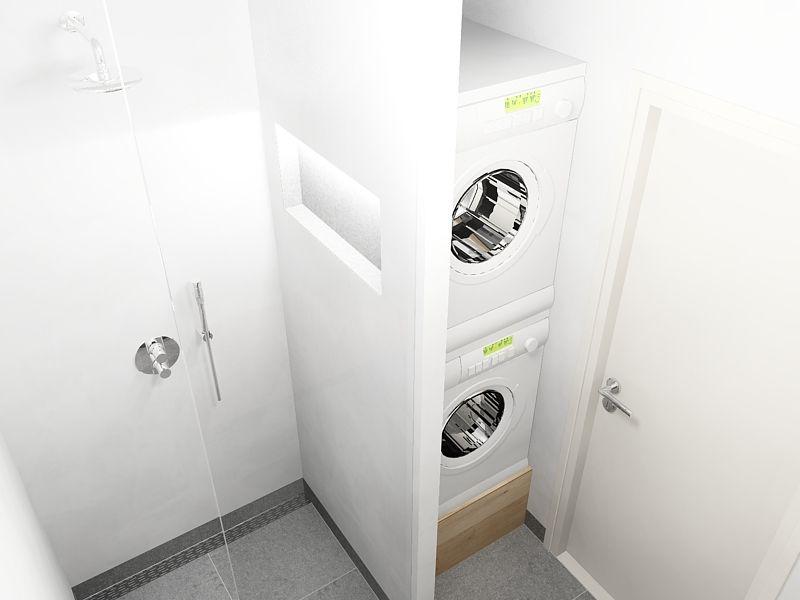 badkamer met wasmachine en droger - google zoeken | garage, Badkamer