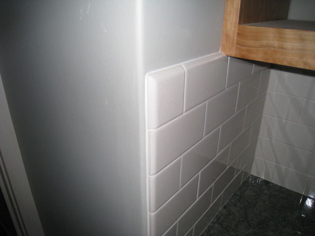 Subway Tile Bullnose Kitchen Renovation Pinterest